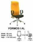 Kursi Direktur & Manager Indachi Formos I AL