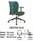 Kursi Direktur & Manager Indachi Vecto III N