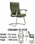Kursi Hadap Indachi Type Obama III VCR
