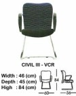 Kursi Hadap Indachi Type Civil III-VCR