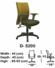 Kursi Staff & Sekretaris Indachi D-5200