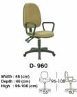 Kursi Staff & Sekretaris Indachi D-960