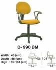 Kursi Staff & Sekretaris Indachi D-990 BM