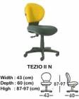 Kursi Staff & Sekretaris Indachi Tezio II N