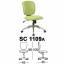 Kursi Sekretaris Chairman Type SC 1109A