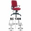 Kursi Sekretaris Chairman Type SC 1308