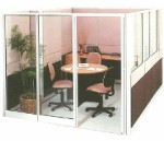 Partisi Kantor Uno Exclusive Meeting Configuration