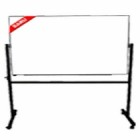 Papan Tulis (Whiteboard) Stand Single Face Sanko 120 x 240 cm