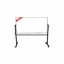 Papan Tulis (Whiteboard) Stand Double Face Sanko 60 x 120 cm
