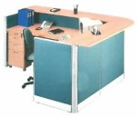 Partisi Kantor Uno Exclusive Receptionist Configuration